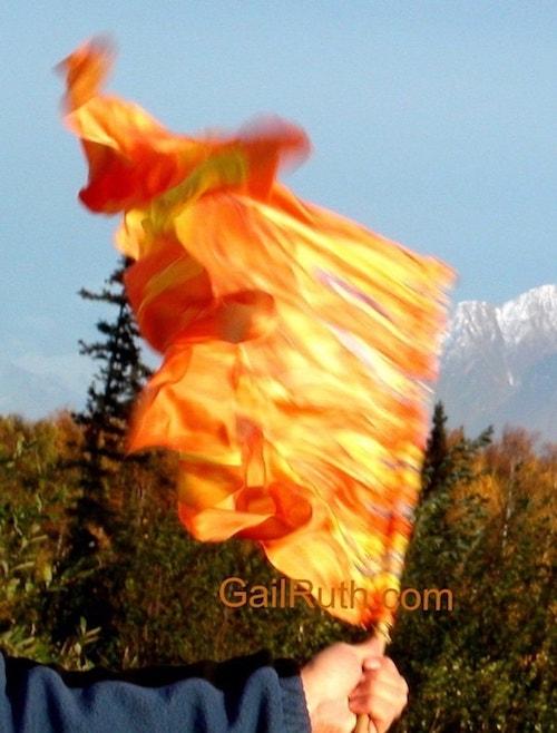 fire of God flag